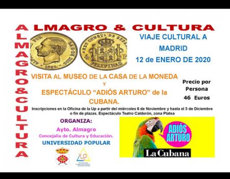 La Universidad Popular viajará a Madrid en enero