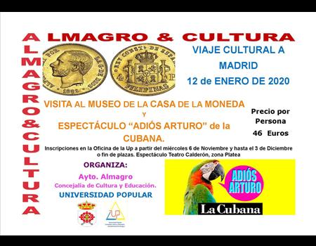 Viaje cultural a Madrid - Universidad Popular
