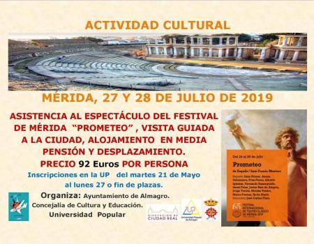 Actividad Cultural Mérida