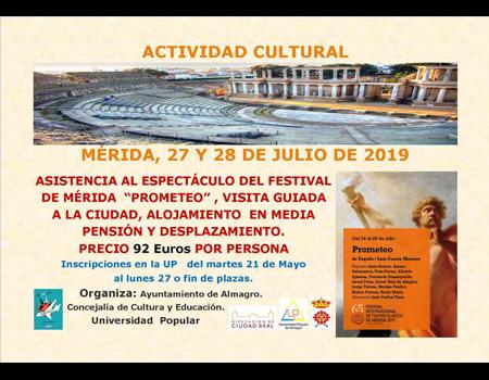 Universidad Popular - Actividad Cultural Mérida