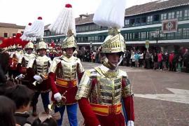 'La Borriquita' y la Compañía Romana dan comienzo a la Semana Santa de Almagro