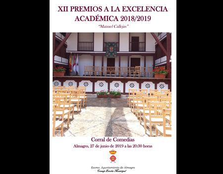 Acto de Reconocimiento a la Excelencia Académica 2018/2019