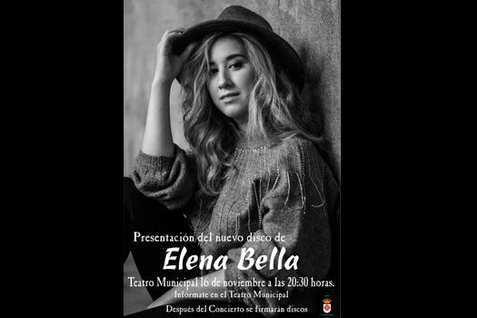 Presentación del nuevo disco de Elena Bella