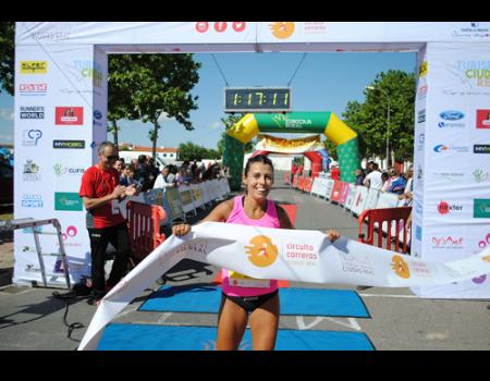 Gemma Arenas gana en Almagro y baja su propio récord de la prueba