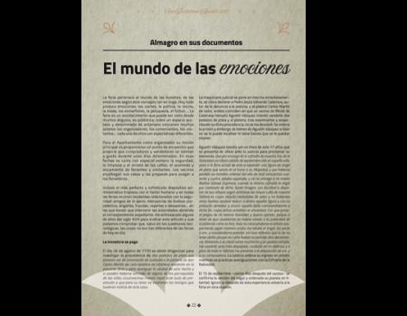 Descripción de Archivo Municipal. El mundo de las emociones