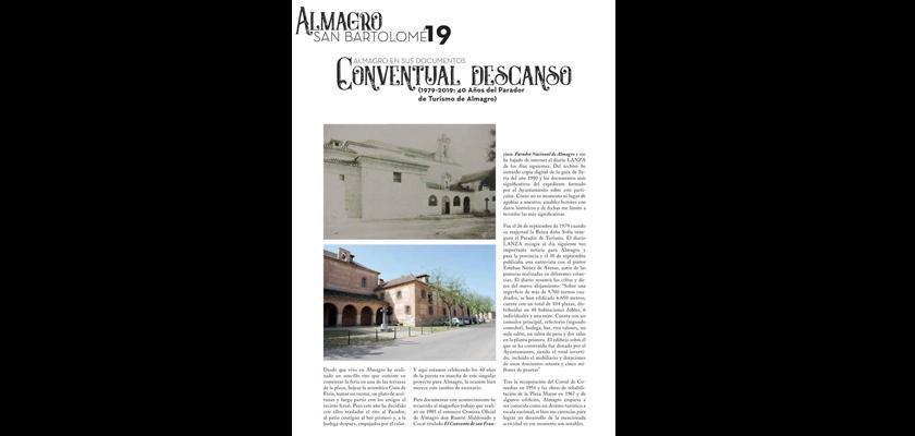 Descripción de Archivo Municipal. Conventual descanso