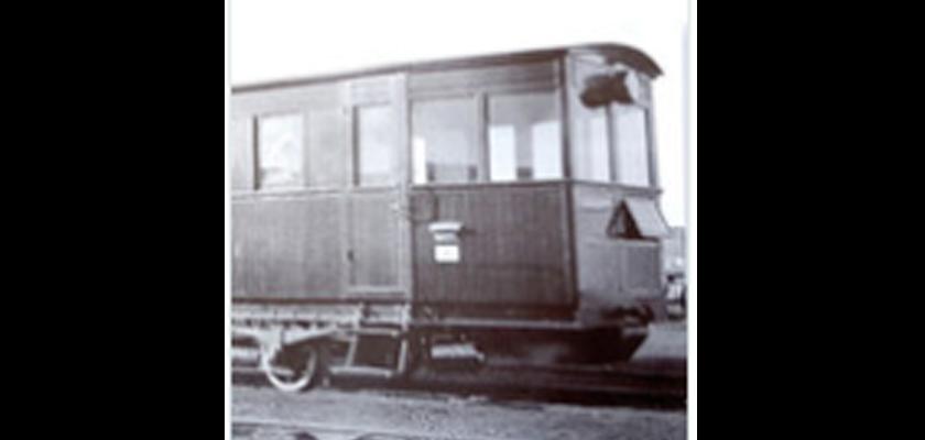 Descripción de Cosas olvidadas de Almagro. El tranvía de Almagro.