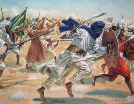 Descripción de Historia local. Visigodos y musulmanes.
