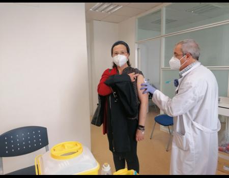 La vacunación de los mayores de 70 años finaliza esta semana en Almagro