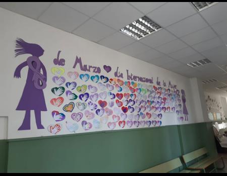 Los alumnos de los centros educativos de Almagro visibilizan a mujeres olvidadas por la Historia