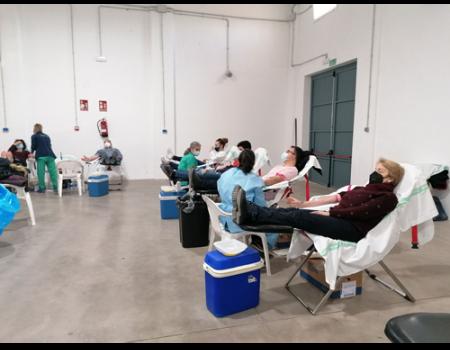 Casi 300 almagreños han donado sangre en la última extracción realizada esta semana