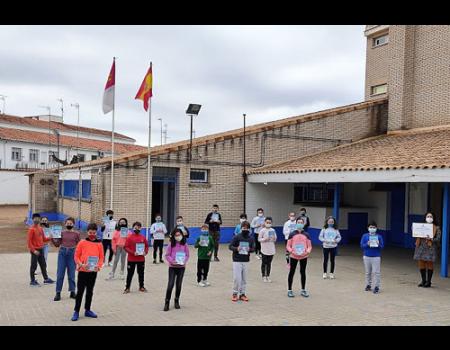 El colegio Diego de Almagro recibe el sello de calidad Etwinning