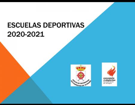 Las Escuelas deportivas municipales comenzarán el 15 de marzo