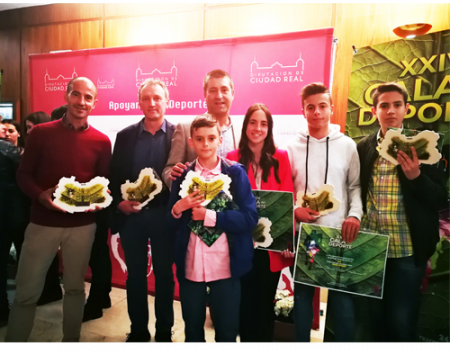 Almagro estuvo muy presente en la Gala Provincial del Deporte