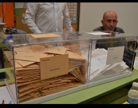 El PSOE es el partido más votado para el Congreso y el Senado