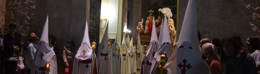 La procesión de Jesús de la Humildad anuncia la sentencia a muerte de Cristo en tiempos de Poncio Pilato