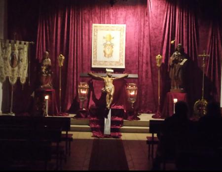 Lunes santo: viacrucis y besamos del señor de San Juan