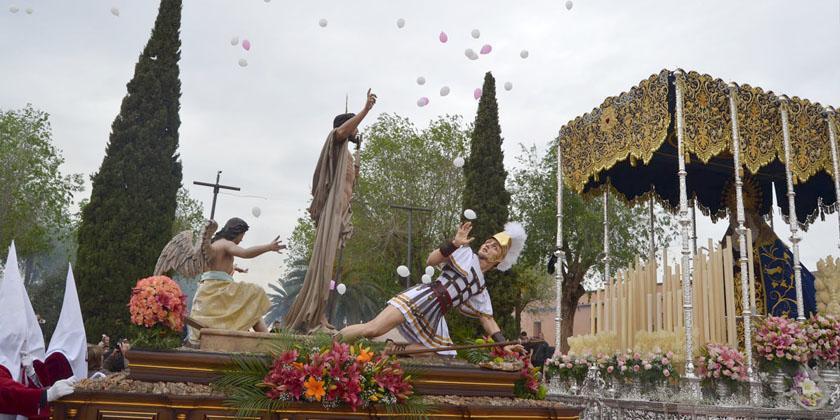 El Resucitado pone fin a una Semana Santa atípica en Almagro