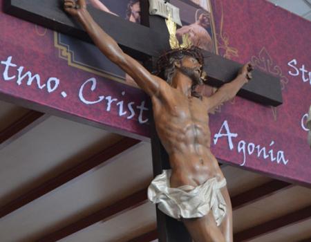 El Cristo de la Agonía se queda en el guardapasos de la Hermandad de Santiago Apóstol