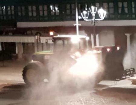 El Ayuntamiento vuelve hoy a desinfectar la ciudad