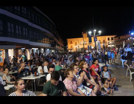 Esta noche arranca la II Edición del Festival Internacional de Cine en la Plaza Mayor