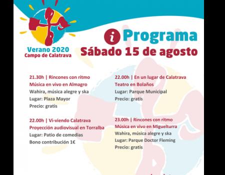 Almagro estrena Verano 2020 del Campo de Calatrava con música en vivo en la Plaza Mayor