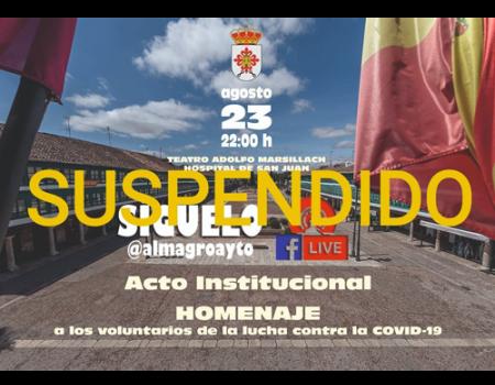 Sanidad no autoriza la semana cultural de Almagro