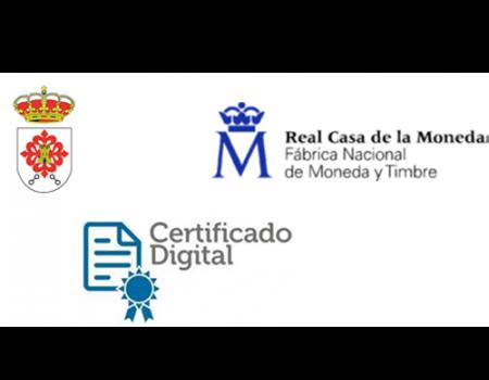 El Ayuntamiento ya tramita la obtención del certificado electrónico de persona física