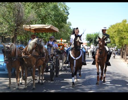 Los caballos volvieron a salir a calle en Feria