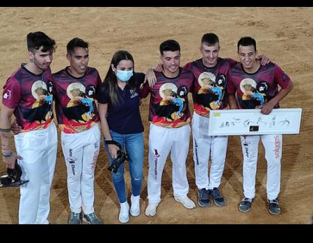 Paquito Murillo fue el ganador del concurso de recortes de Almagro
