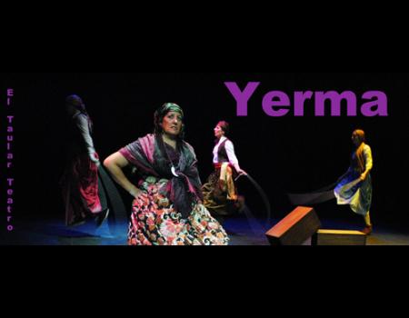 Elvira Prieto, vieja pagana de Yerma obtiene el premio a la mejor actriz de reparto en el IV certamen nacional de teatro de aficionado de Villa del Río