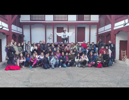 Casi seiscientos niños han conocido Almagro por las rutas científicas, artísticas y literarias del Ministerio de Educación