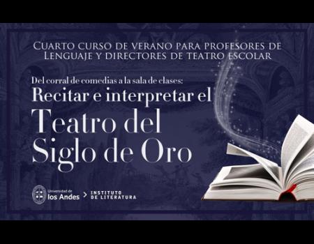 El Taller de Verso Clásico del Festival Internacional de Teatro Clásico  organiza el IV Curso de Verano en Chile
