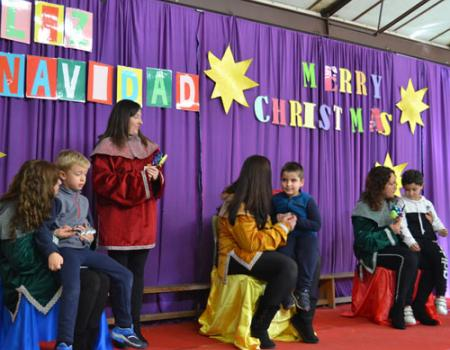 La Navidad ya ha comenzado en los colegios