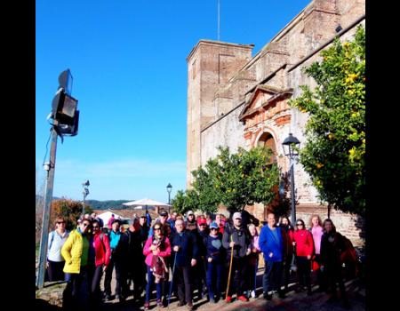 Los senderistas almagreños finalizan las jornadas de otoño en la Sierra de Aracena