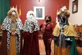 Mensaje de los Reyes Magos en Almagro