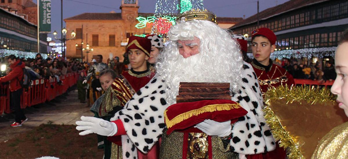 Los Reyes Magos llegan a Almagro con gran ilusión