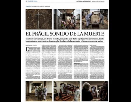 La almagreña Nieves Sánchez y el fotógrafo Pablo Lorente ganan el XVI Premio APCR de Periodismo