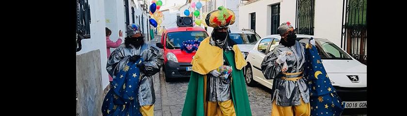 Los Reyes Magos destacan el excelente comportamiento de los niños almagreños