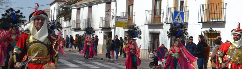 Las Peñuelas de Pozuelo de Calatrava gana el concurso del Carnaval de Almagro