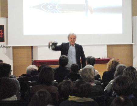 Divertidísimo encuentro con Emilio del Río en el Ateneo de Almagro
