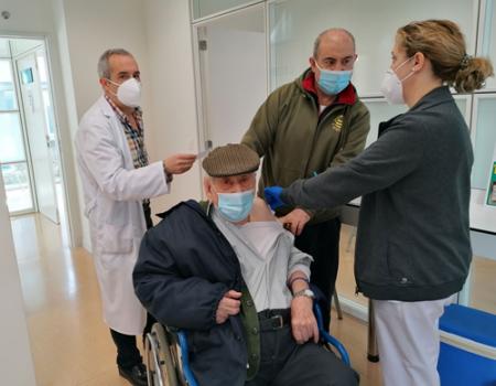Las personas con grado 3 de dependencia y sus cuidadores principales se vacunarán contra la COVID-19 la próxima semana en Almagro