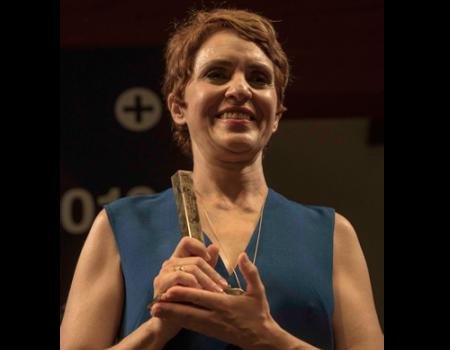 Adriana Ozores recibe con enorme ilusión el Premio Corral de Comedias, un premio de vuelta a su pasado almagreño