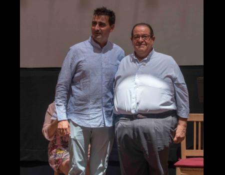 Domingo Serrano recibe la berenjena de plata del Festival Internacional de Teatro Clásico