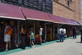 El comercio local y la artesanía conviven en Almagro