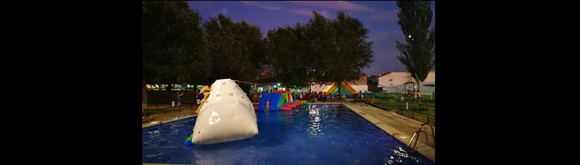 Las noches jóvenes en la piscina finalizan este viernes