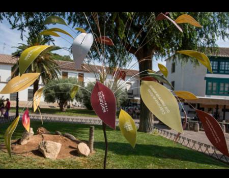 Los jardines de la Plaza Mayor se convierten en el Paseo de la Fama