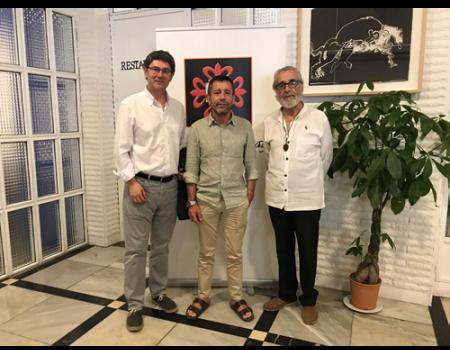 El fotógrafo Manuel Ruiz Toribio presentó en el Ateneo su libro Guadianas