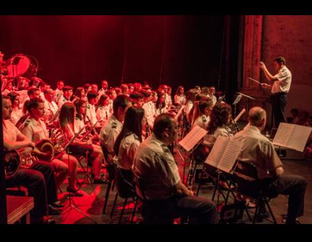 La Banda de Música hace un guiño a México en su primer concierto del 42 Festival Internacional de Teatro Clásico