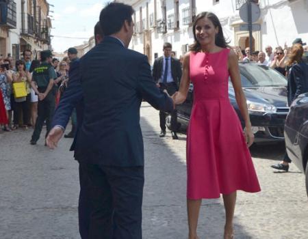 La Reina visita Almagro